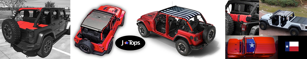 JTopsUSA Best Jeep Wrangler Sun Shade To