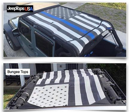 Jeep Wrangler mesh sun shade Gear Shade vs JTopsUSA