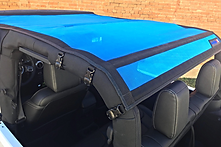 Jeep Wrangler 2 Door Sun Shade by JTopsUSA