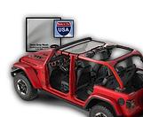 Jeep Wrangler Bikin Sun Shade JTopsUSA g