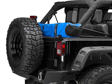 Jeep Wrangler soft top boot