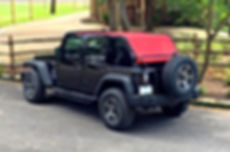 JTopsUSA full length Jeep sun shade Wrangler JK