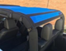 Jeep JK Sun Shade construction