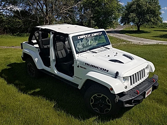 Jeep Wrangler Rubicon Mesh Top