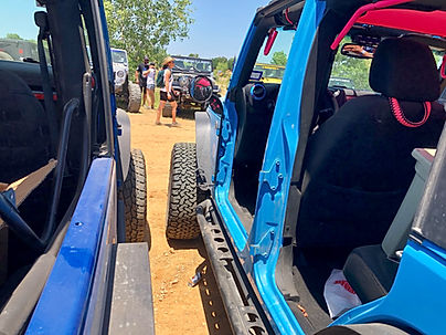 Wrangler Foot Pegs with Mirrors, Jpeggz