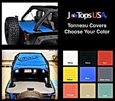 Jeep Wrangler Tonneau Color Chart