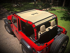 jeep wrangler sun shade top 2 door  jtop