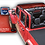 Red mesh top for the Jeep Gladiator