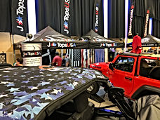 JTops Trade Show Booth at The Great Smoky Mountain Jeep Invasion