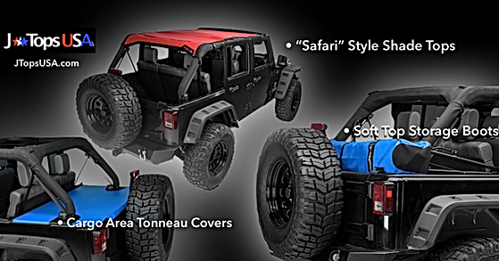 Jeep Wrangler Accessories by JTopsUSA