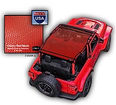 Jeep Wrangler JL Mesh Sun Shade Top JTop