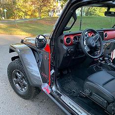 Jeep Gladiator foot peg with mirror, Jpeggz