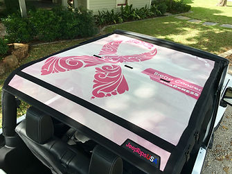 Wrangler by Jeep summer mesh sun shade accessories