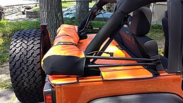 JTopsUSA Jeep soft top storage boot