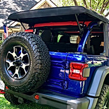 JEEP WRANGLER JL SHADE TOP  BY JTOPSUSA.