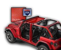 Jeep Wrangler Bikin Sun Shade JTopsUSA r