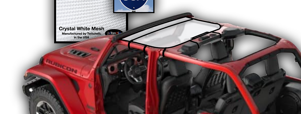 Jeep wrangler JL (2018-2021) Bikini Sun Shade Top