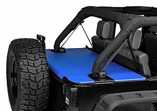 Jeep Wrangler Cargo Area Tonneau Cover
