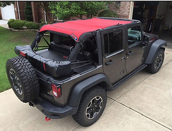 Jeep shade top and soft top boot customer photo