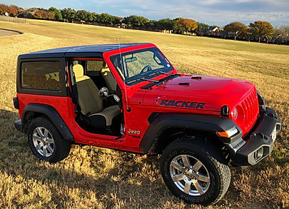 Wrangler Foot Pegs with Wrangler Mirrors