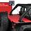 Jeep cargo area tonneau cover