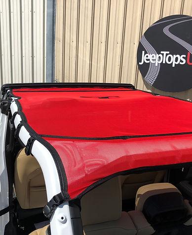 Jeep Wrangler JL Mesh Shade Top