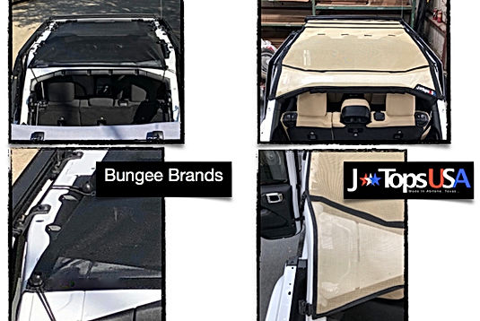 Jeep Wrangler JL sun shade competitive comparison