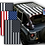 Thumbnail: Wrangler JK Flag Printed Sun Shade