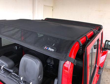 Jeep Gladiator Sun Shade Top