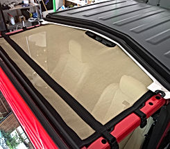 Jeep Wrangler JL sun shade by JTopsUSA