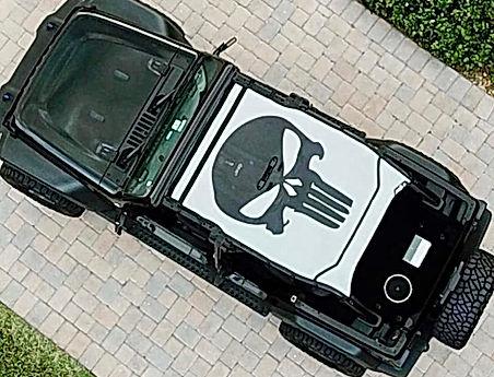 Jeep Wrangler JL Sun Shade