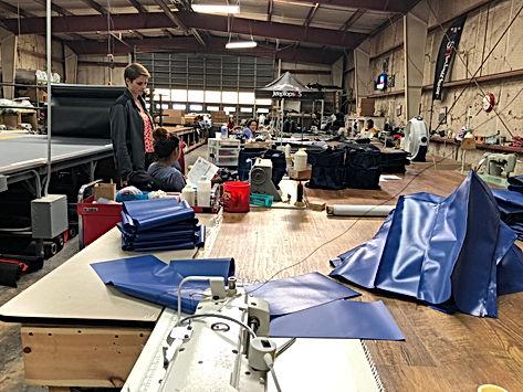 JTopsUSA Jeep Wrangler Accessories Manufacturing Facility