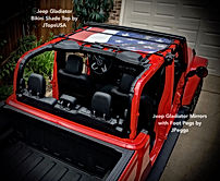 Jeep Gladiator Bikini Sun Shade