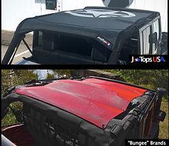 Jeep Wrangler Mesh Sunshade Top Comparisons
