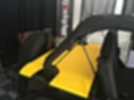Jeep yellow tonneau cover