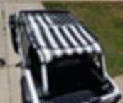 Jeep Wrangler 2019 JL sun shade