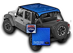 Jeep Wrangler JKU Mesh Sum Shade blue JT