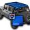 jeep wrangler jk/jku mesh sun shadr top
