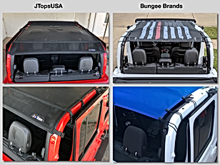 Jeep Gladiator Sun Shade by JTopsUSA Com