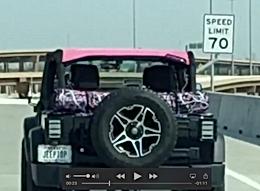 Jeep Wrangler Summer Mesh Top, Texas Express Speed Test