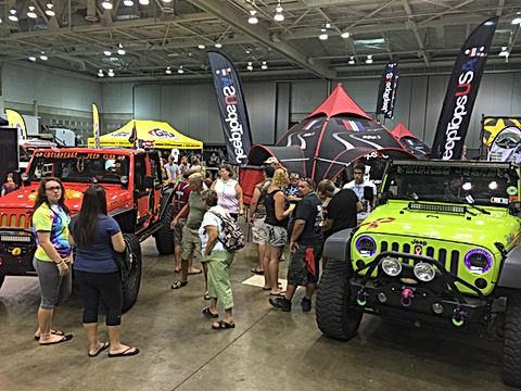 JTopsUSA Ocean City Jeep Show