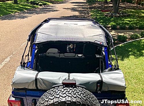 2018 Jeep Wtangler JL Mesh Top