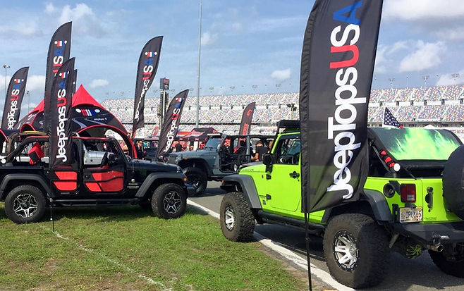 Jeep Shade Top, Spiderwebshade