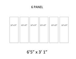 16 - 6 Panel