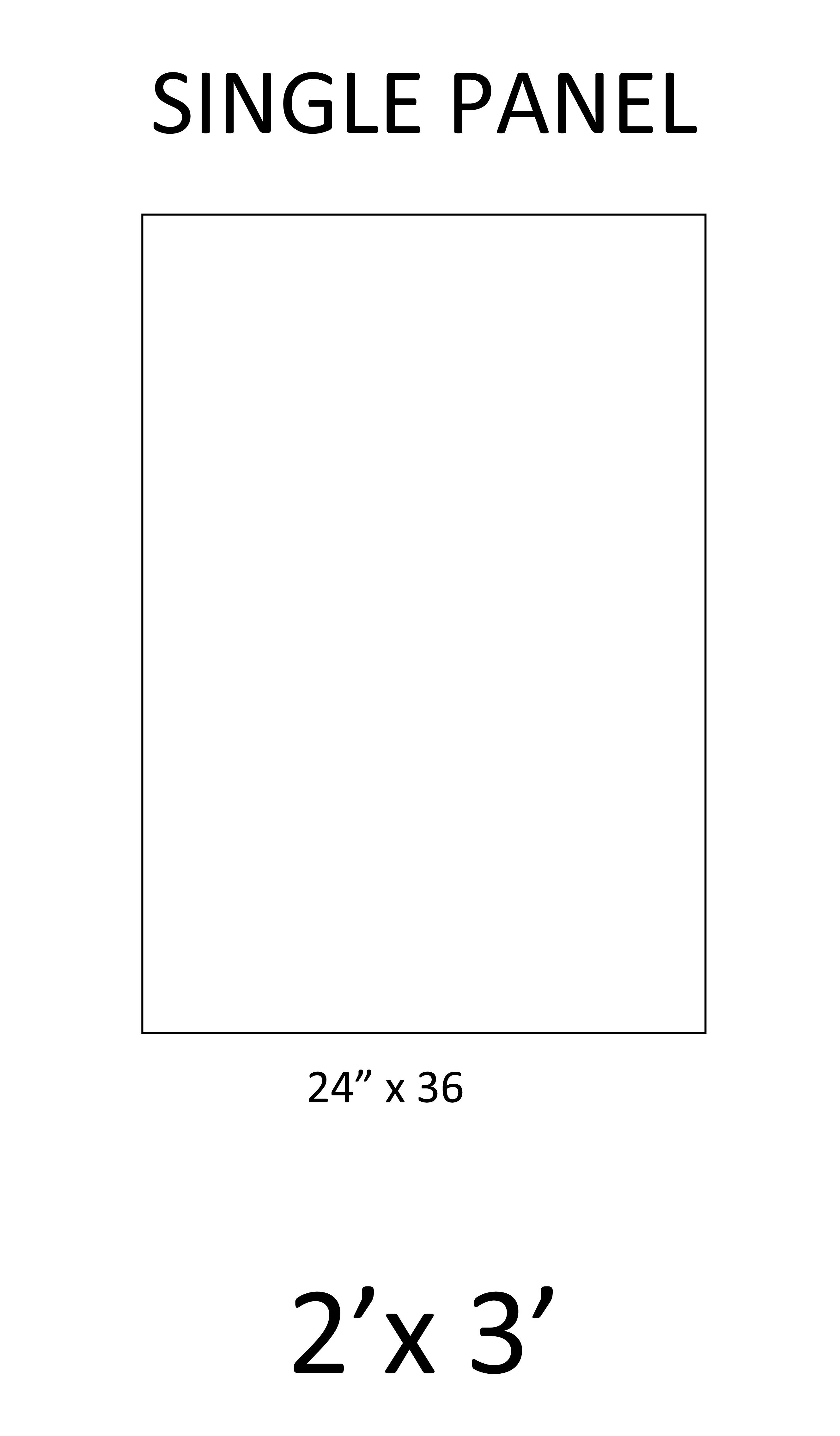 1 - Single Panel