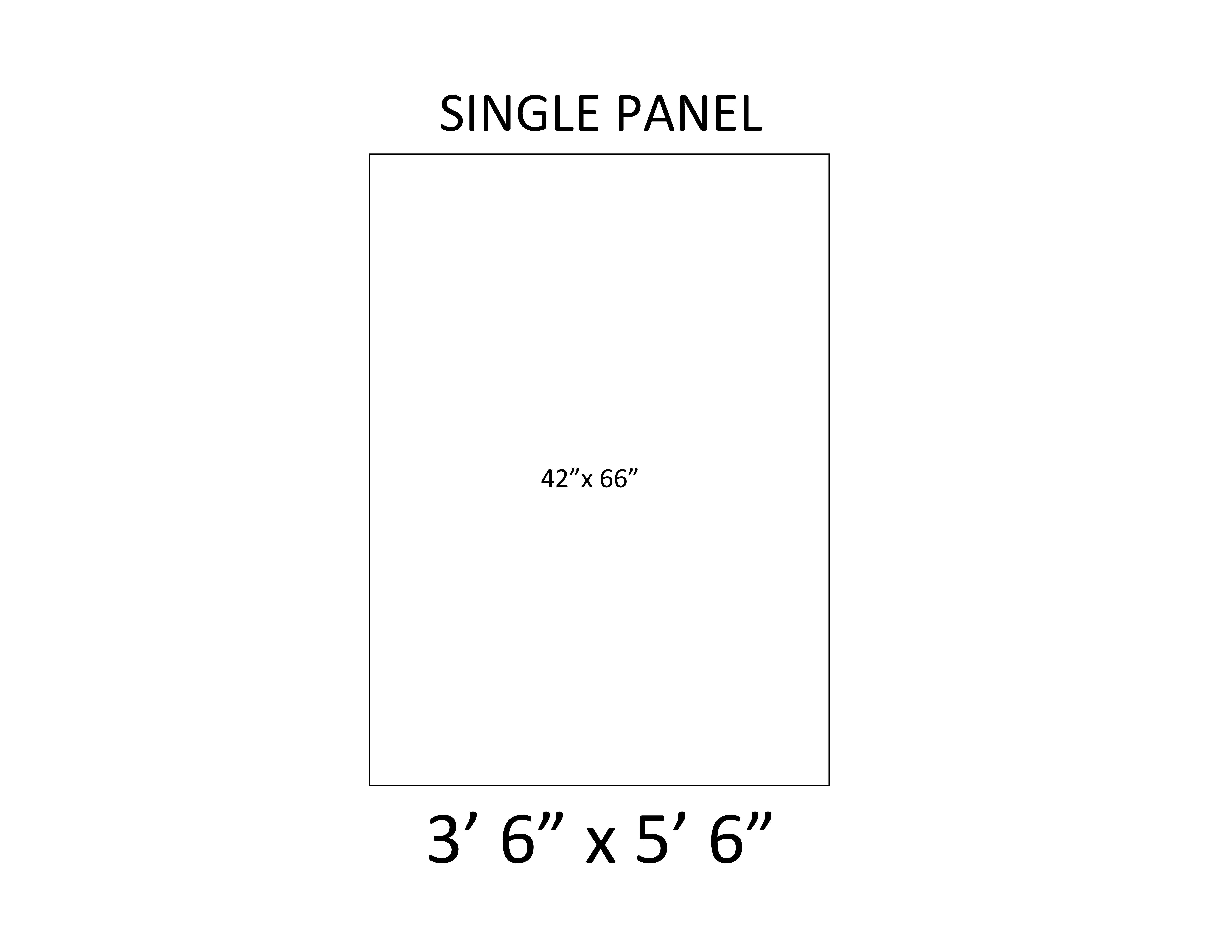 3 - Single Panel