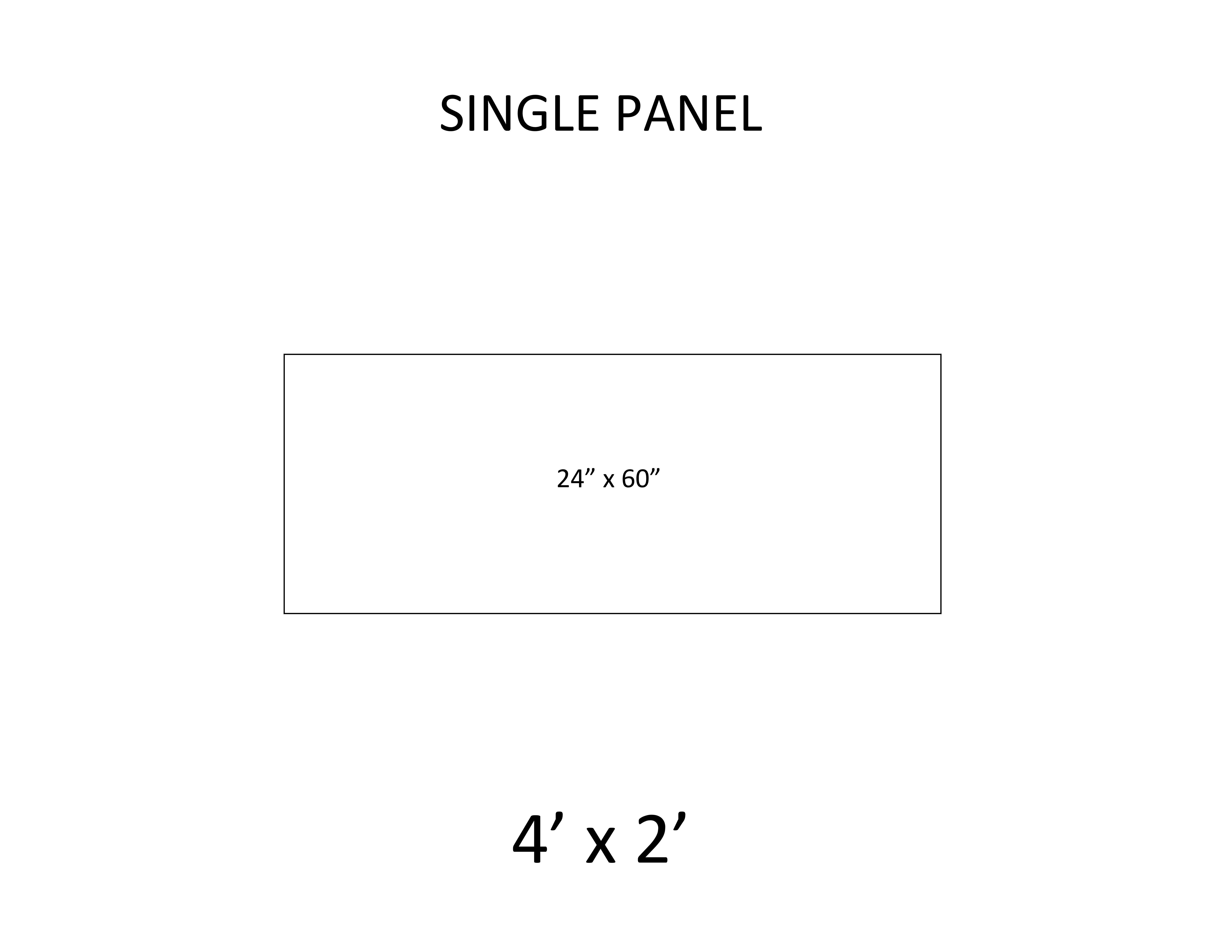 4 - Single Panel