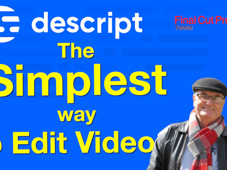 The Simplest way to edit video - Descript review
