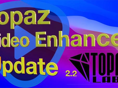 Topaz Video Enhance AI Update 2.2