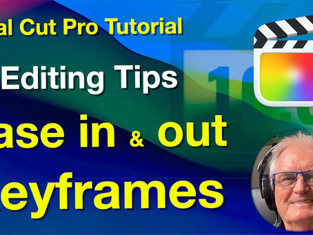 Ease in and out keyframes